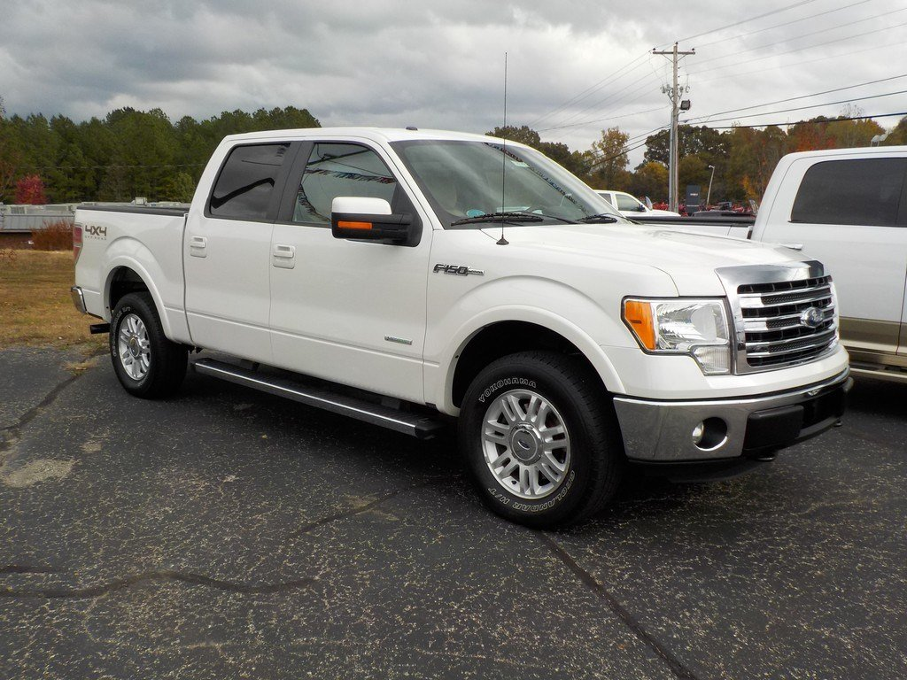 "Pre-owned 2013 ford f-150 4wd supercab 145"" xlt truck in."