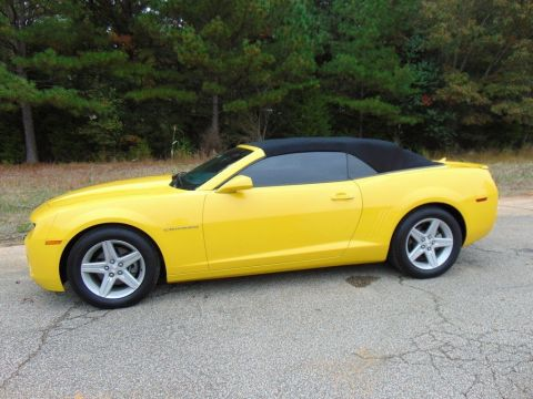 Pre-Owned 2012 Chevrolet Camaro 1LT 2WD Convertible
